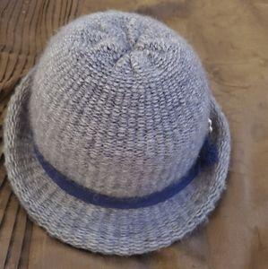 Kates Boutique Wool Grey Vintage Hat